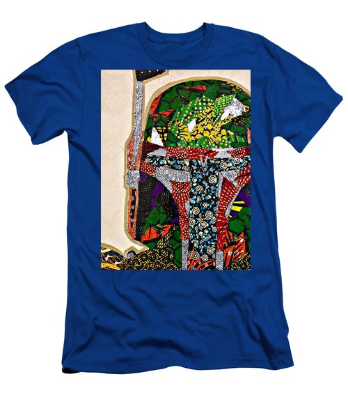 Boba Fett Star Wars Afrofuturist Collection Men's T-Shirt (Athletic Fit)