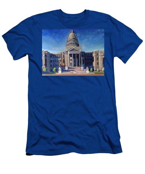 Boise Capitol Building 02 Men's T-Shirt (Athletic Fit)