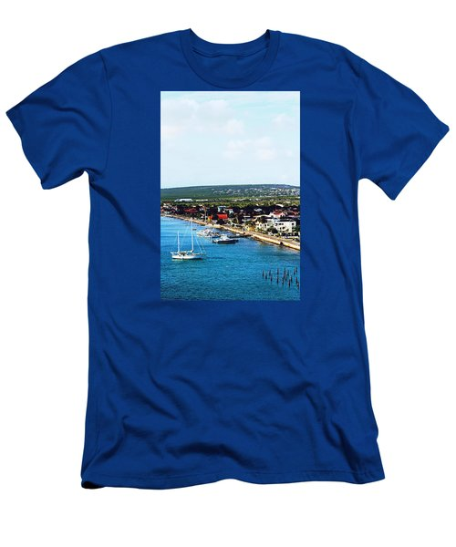 Bonaire Men's T-Shirt (Slim Fit) by Infinite Pixels