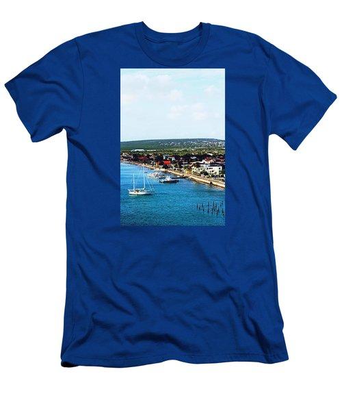 Bonaire Men's T-Shirt (Athletic Fit)
