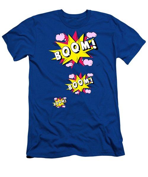 Boom Comics Men's T-Shirt (Slim Fit) by Mark Ashkenazi