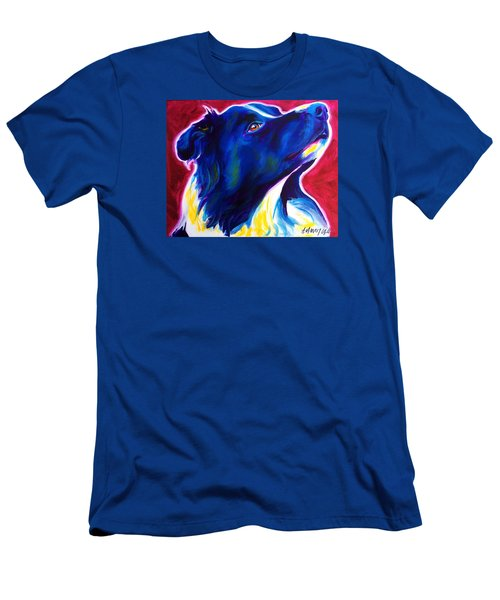 Border Collie - Bright Future Men's T-Shirt (Athletic Fit)