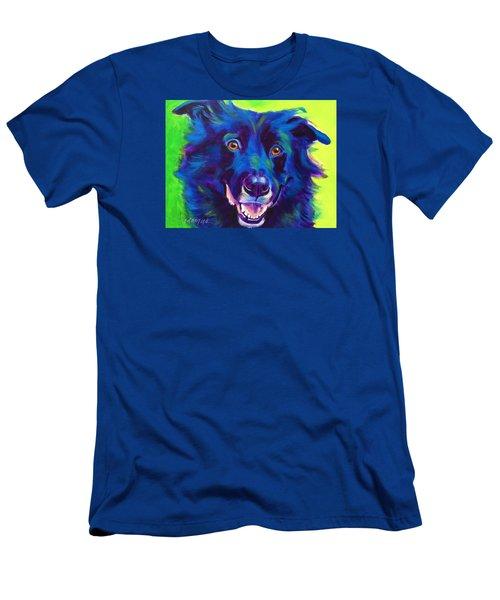 Border Collie - Viktor Men's T-Shirt (Athletic Fit)