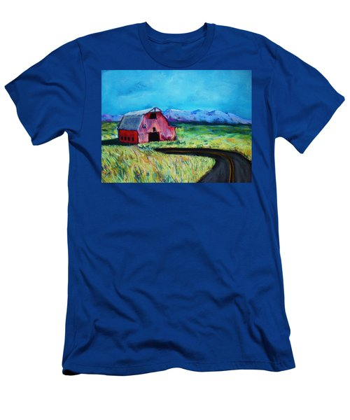Bradley's Barn Men's T-Shirt (Athletic Fit)