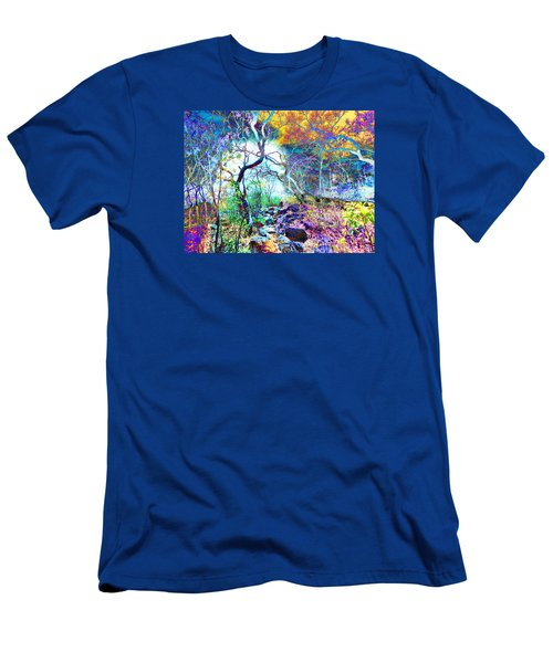 Men's T-Shirt (Slim Fit) featuring the photograph Brazilian Surreal Forest by Beto Machado