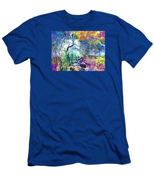 Brazilian Surreal Forest Men's T-Shirt (Slim Fit) by Beto Machado