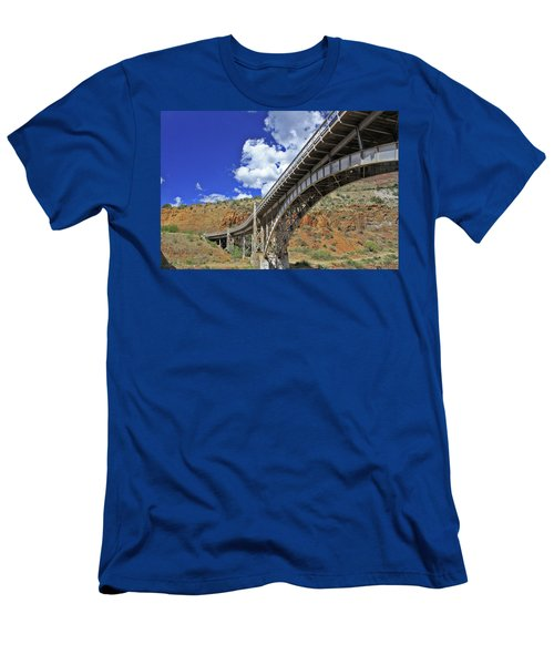 Bridge To Yesteryear Men's T-Shirt (Athletic Fit)