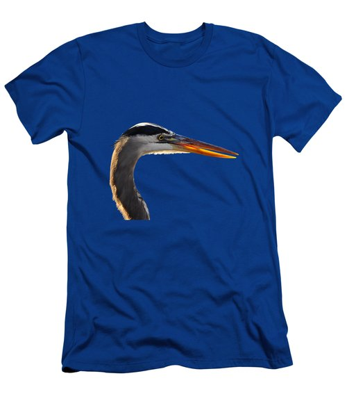 Bright Beak Blue .png Men's T-Shirt (Athletic Fit)