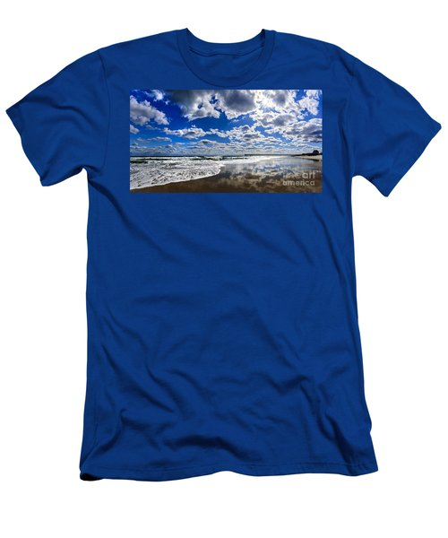 Brilliant Clouds Men's T-Shirt (Athletic Fit)