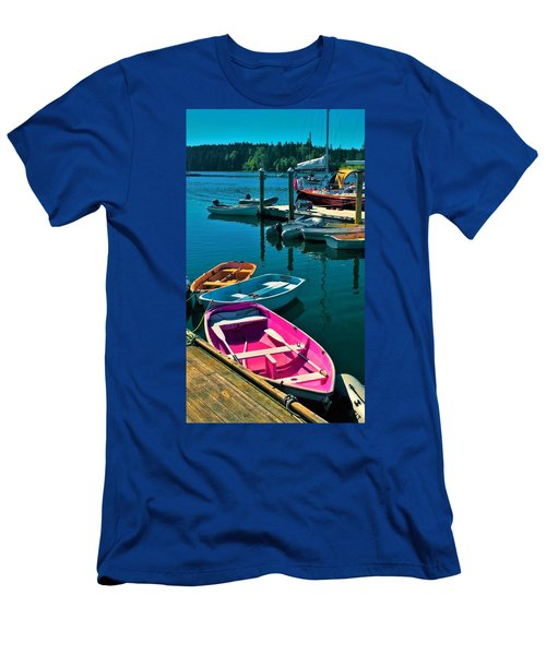 Brooklyn Harbor Men's T-Shirt (Athletic Fit)
