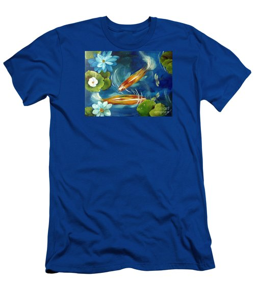 Bubble Maker Men's T-Shirt (Slim Fit) by Carol Sweetwood
