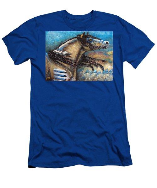 Buckskin Bell Blues Men's T-Shirt (Athletic Fit)