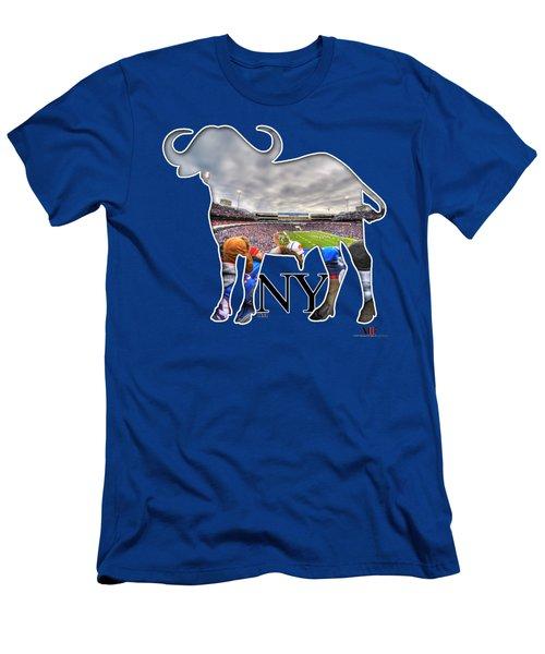 Buffalo Ny Bills Game Men's T-Shirt (Athletic Fit)