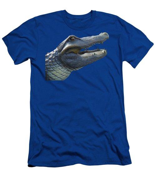 Bull Gator Portrait Transparent For T Shirts Men's T-Shirt (Athletic Fit)