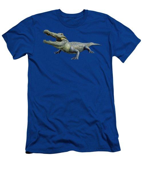 Bull Gator Transparent For T Shirts Men's T-Shirt (Slim Fit) by D Hackett