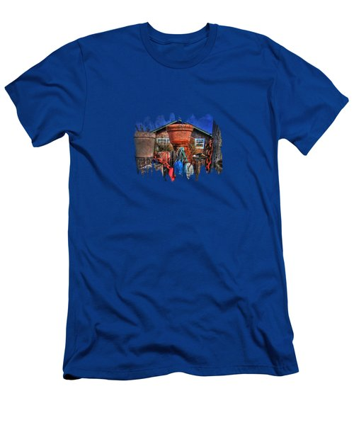 Buoys Chains And Pots Men's T-Shirt (Slim Fit) by Thom Zehrfeld