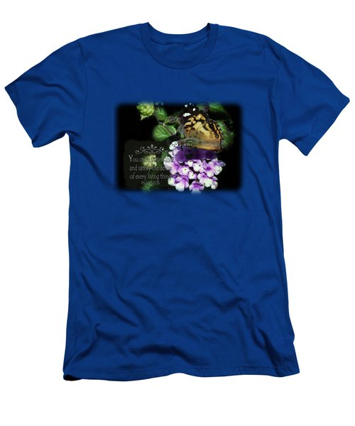 Butterfly Brownie - Verse Men's T-Shirt (Athletic Fit)
