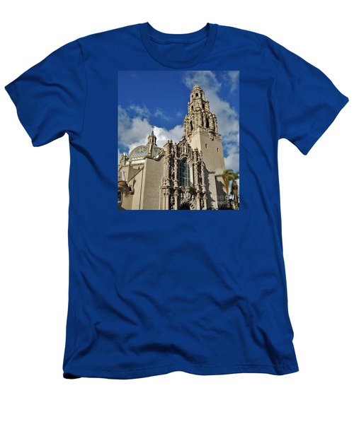California Tower 2010 Men's T-Shirt (Slim Fit) by Jasna Gopic