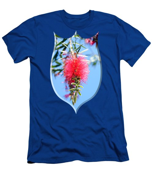 Callistemon - Bottle Brush T-shirt 1 Men's T-Shirt (Slim Fit) by Isam Awad