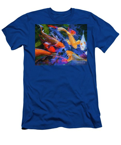 Calm Koi Fish Men's T-Shirt (Athletic Fit)