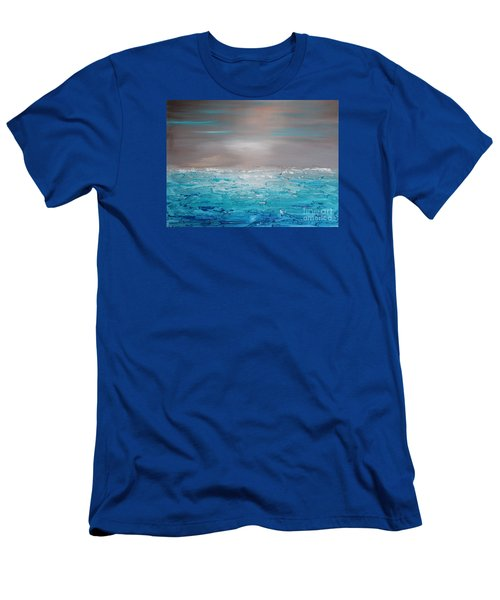 Calm Water Men's T-Shirt (Athletic Fit)