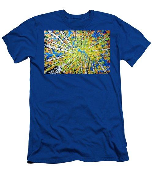 Calming Canopy Men's T-Shirt (Slim Fit) by Jackie Carpenter