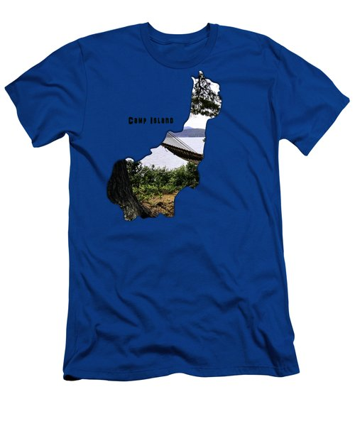 Camp Island Men's T-Shirt (Slim Fit) by Mim White