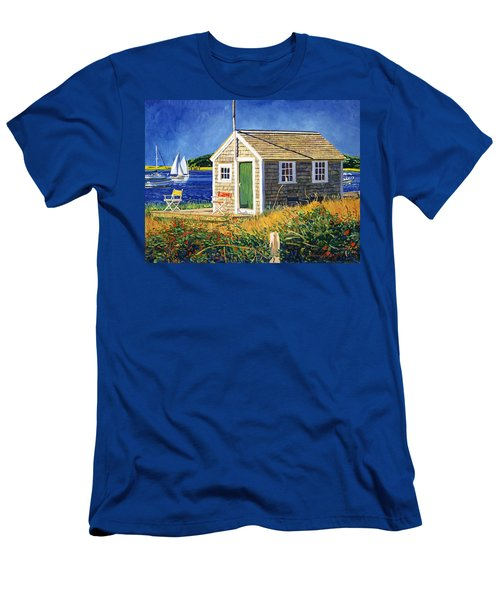 Cape Cod Boat House Men's T-Shirt (Athletic Fit)