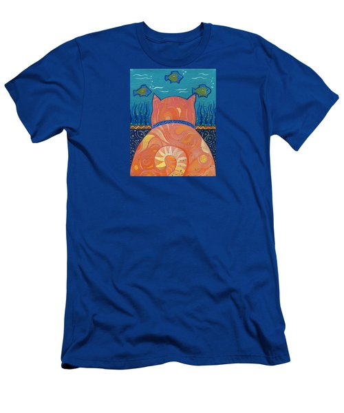 Cat Tales Men's T-Shirt (Athletic Fit)
