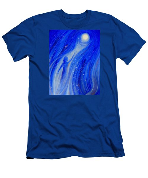 Catch The Moon Men's T-Shirt (Athletic Fit)