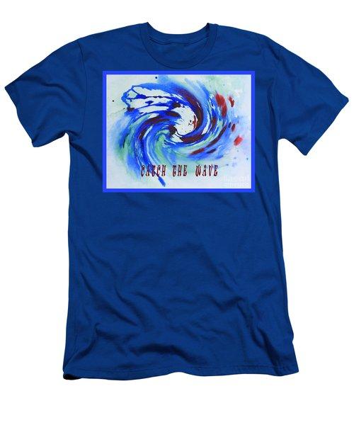 Catch The Wave Men's T-Shirt (Athletic Fit)