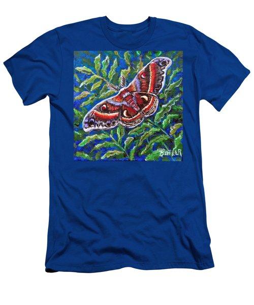Cecropia Moth Men's T-Shirt (Athletic Fit)