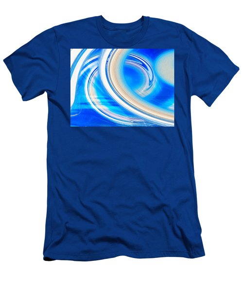 Men's T-Shirt (Slim Fit) featuring the photograph Celestial Rings by Shawna Rowe
