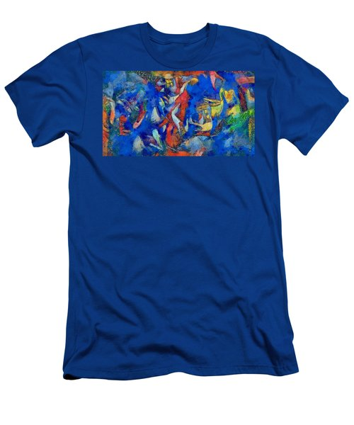 Chagall's Dream Men's T-Shirt (Athletic Fit)