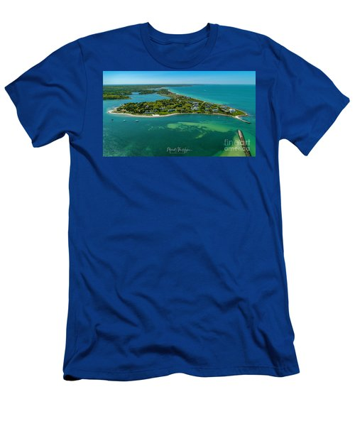 Chapoquoit Island Men's T-Shirt (Athletic Fit)