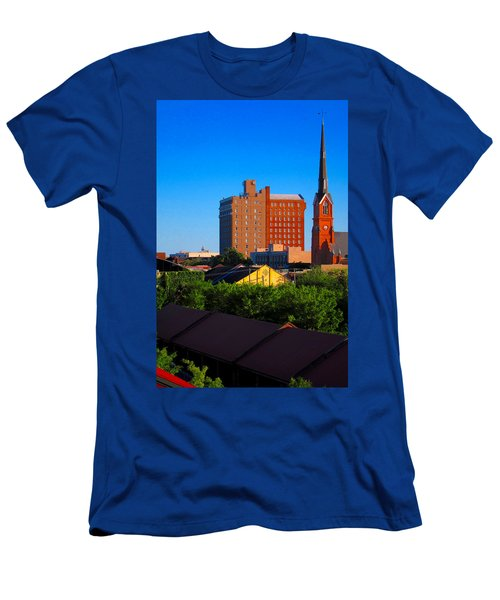 Charleston Buildings Men's T-Shirt (Athletic Fit)