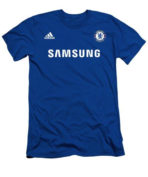 Chelsea Fc,the Blues Men's T-Shirt (Athletic Fit)