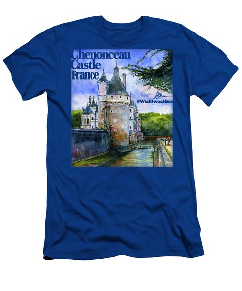 Chenonceau Castle Shirt Men's T-Shirt (Athletic Fit)