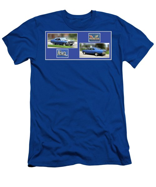 Chevy Nova Horizontal Men's T-Shirt (Athletic Fit)