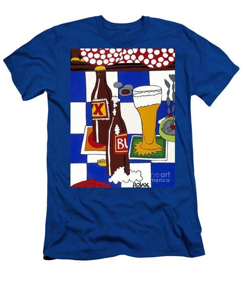 Chichis Y Cervesas Men's T-Shirt (Athletic Fit)