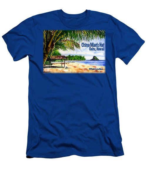 Chinaman Hat Island Shirt Men's T-Shirt (Athletic Fit)