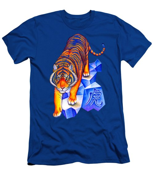 Chinese Zodiac - Year Of The Tiger Men's T-Shirt (Athletic Fit)