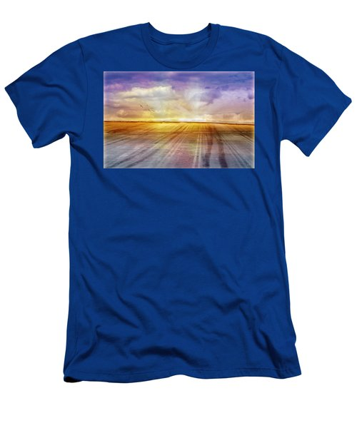 Choices Men's T-Shirt (Slim Fit) by Holly Kempe