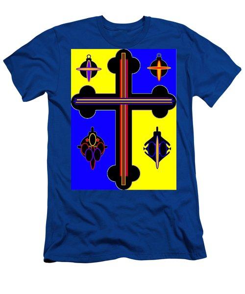 Christmas Ornate 2 Men's T-Shirt (Athletic Fit)