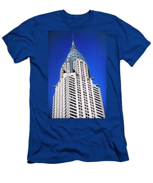 Chrysler Building Men's T-Shirt (Athletic Fit)