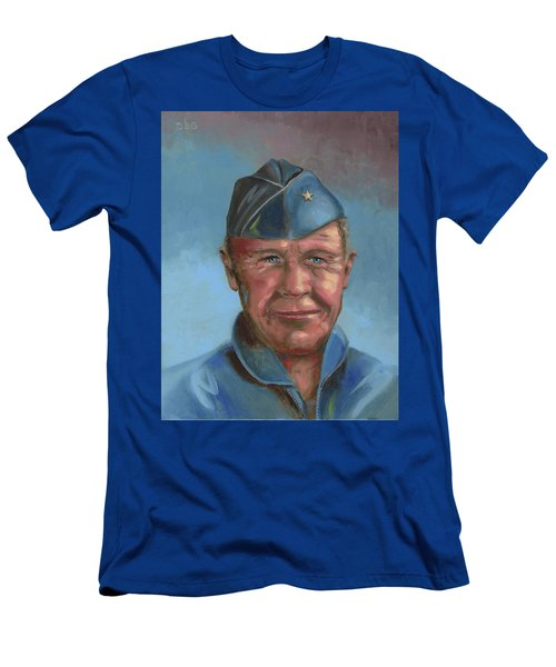 Chuck Yeager Men's T-Shirt (Athletic Fit)