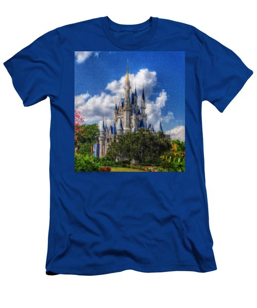 Cinderella Castle Summer Day Men's T-Shirt (Athletic Fit)