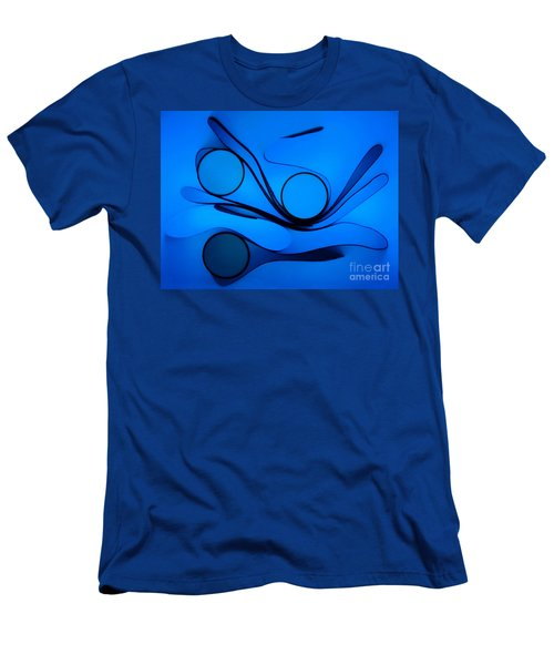 Men's T-Shirt (Slim Fit) featuring the photograph Circles And Shadows by Trena Mara
