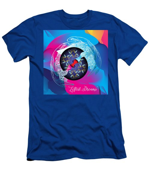 Circularium No 2719 Men's T-Shirt (Slim Fit) by Alan Bennington
