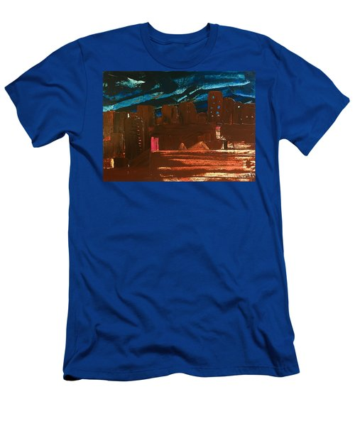 City Lights Men's T-Shirt (Athletic Fit)